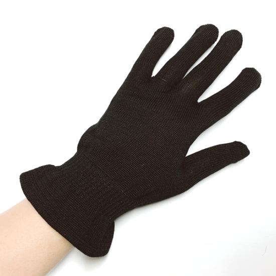 シルク手袋,黒,ブラック,紫外線,対策グッズ